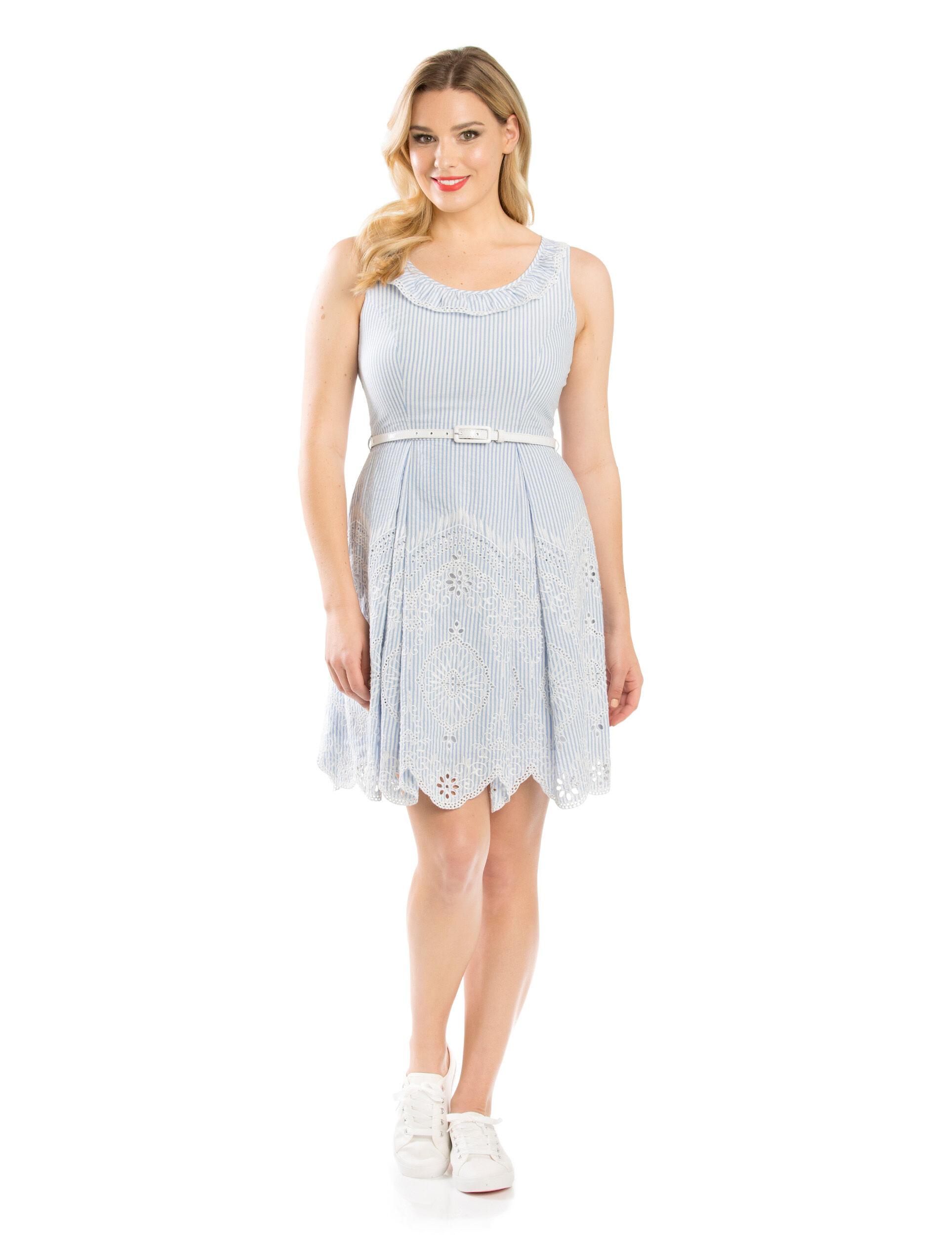 Clarissa Stripe Dress