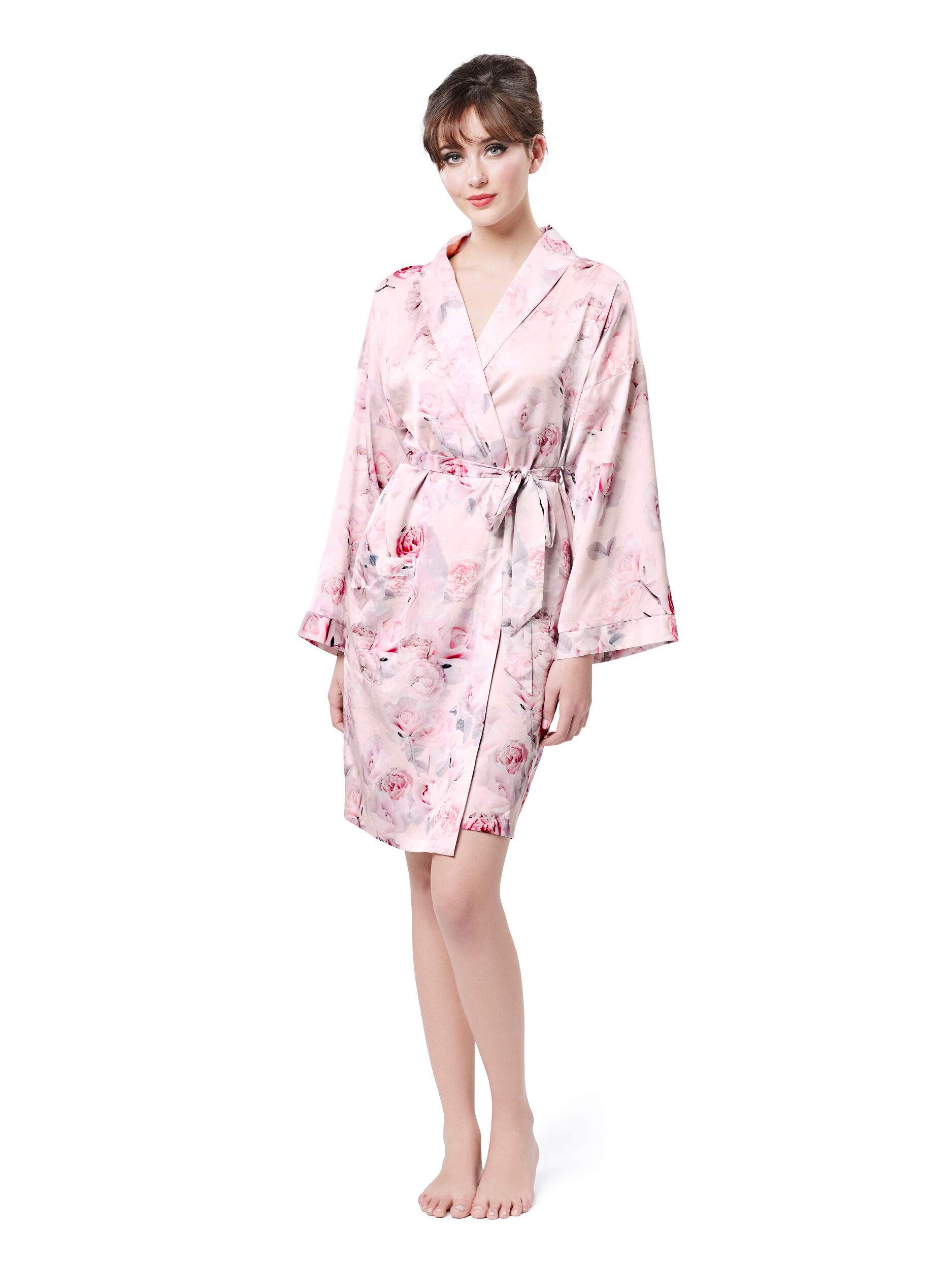 Floral Whisper Bride Robe