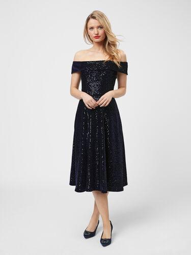 Midnight Glimmer Dress