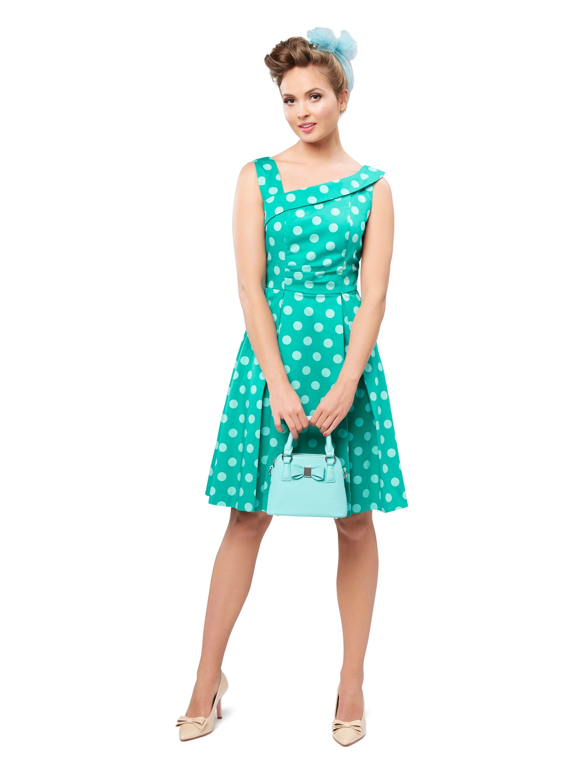 Midori Spot Dress