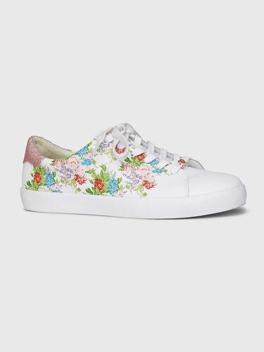 Send Flowers Printed Sneaker