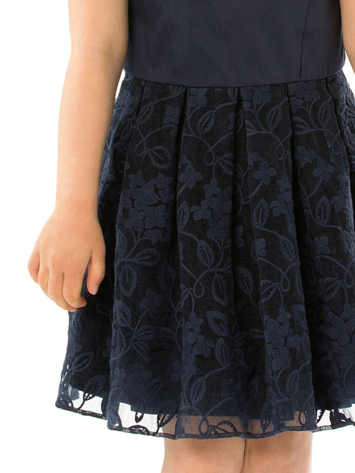 3-7 Girls Embroidered Dress