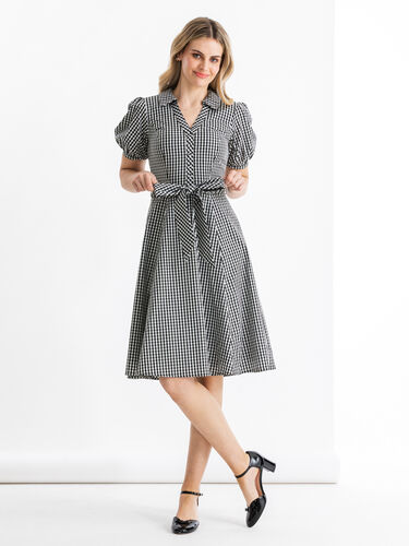 Gracie Gingham Dress