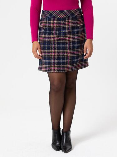 Lottie Check Skirt