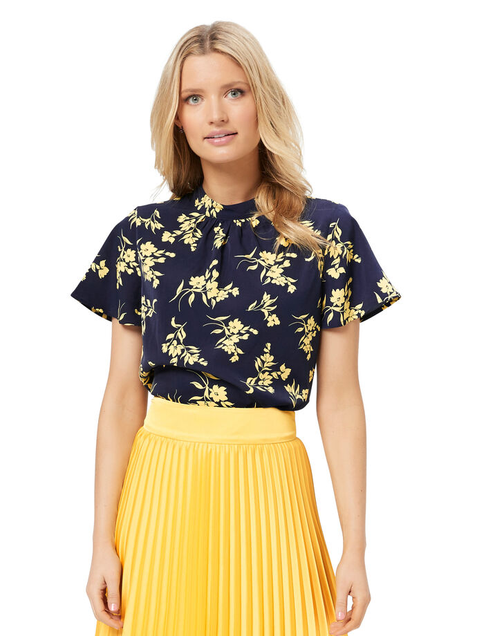 Aster Floral Top