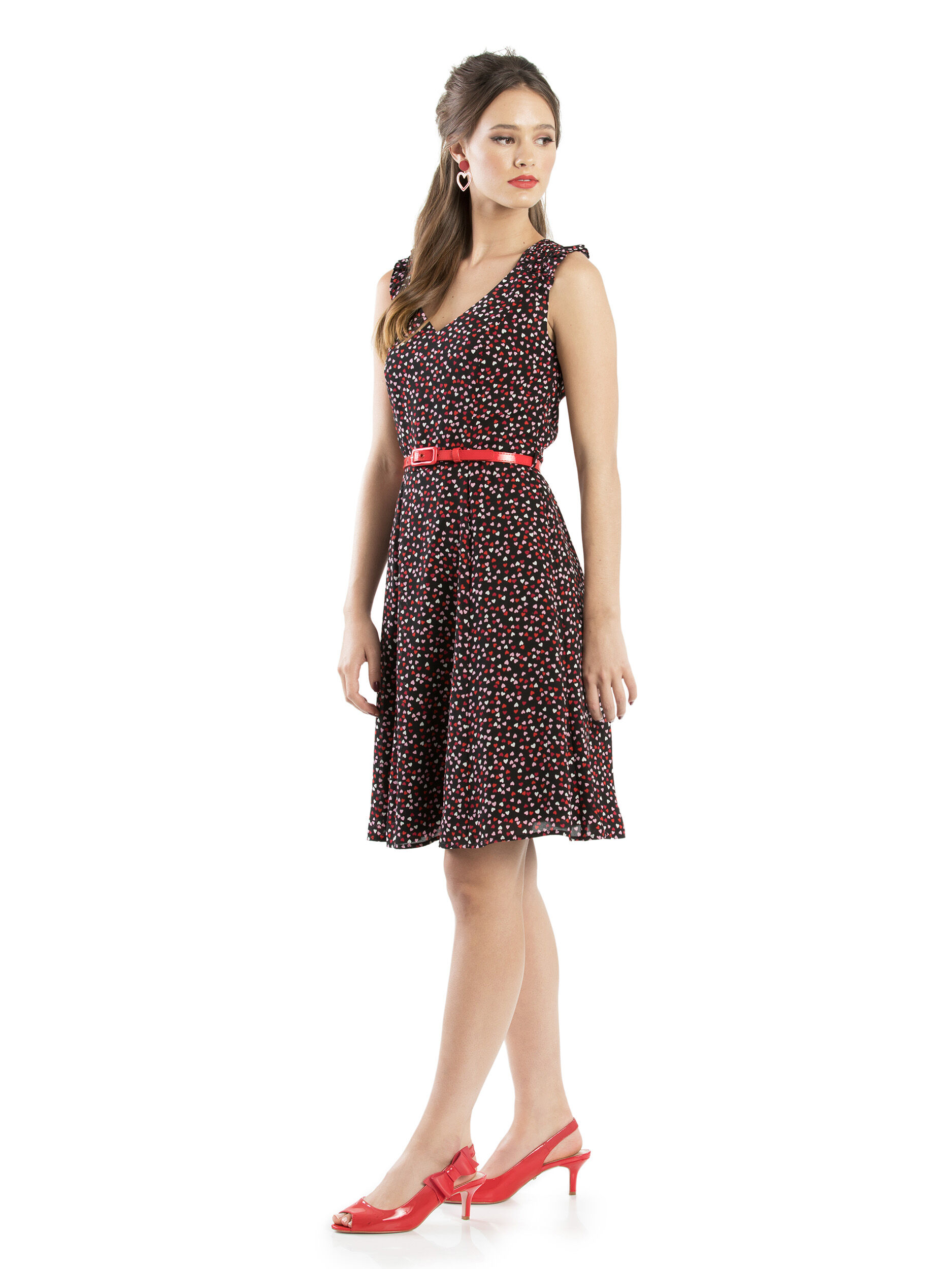 Scattered Hearts Dress