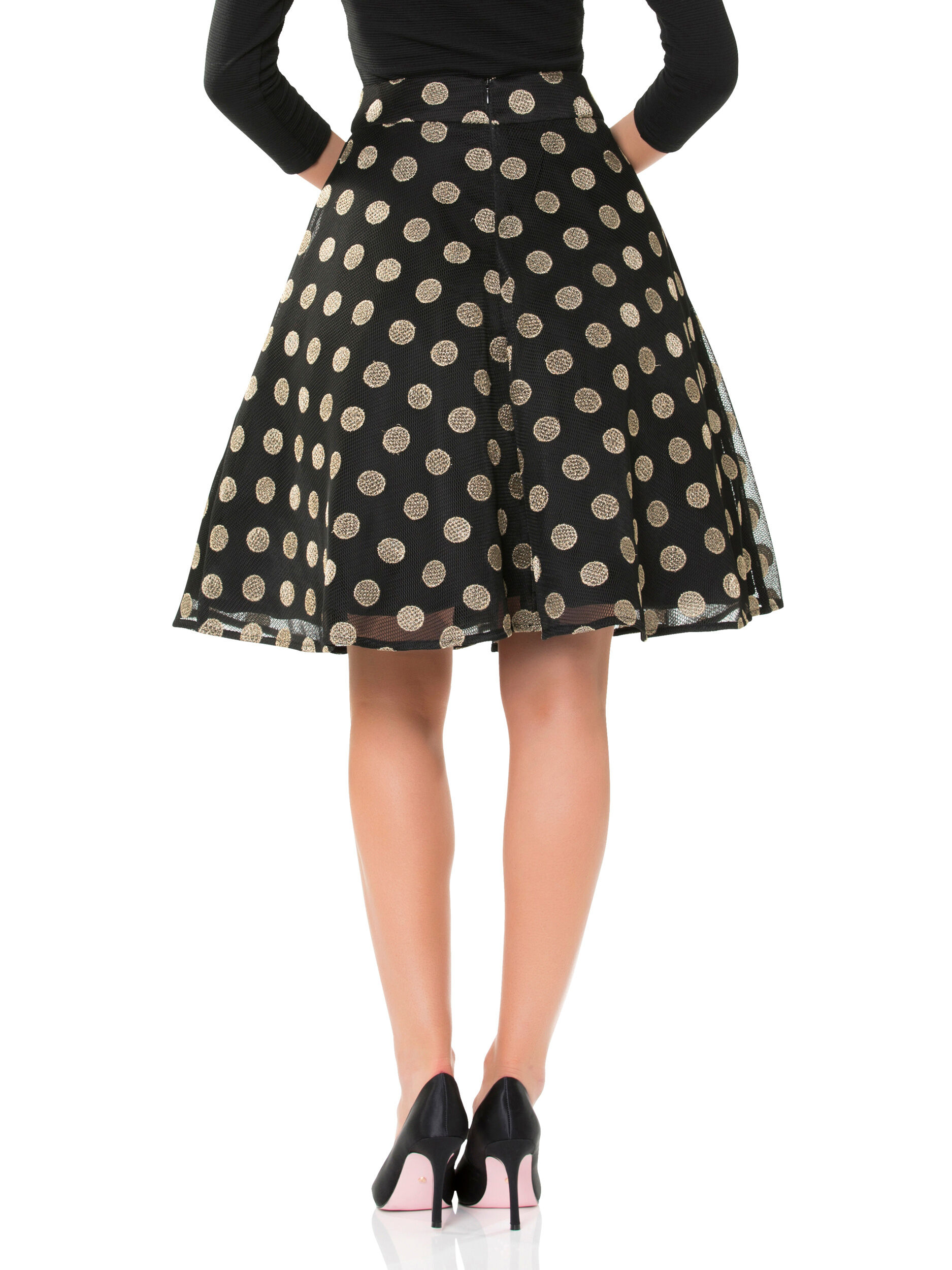 Night In New York Skirt