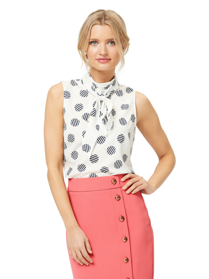 Stripe Spot Top