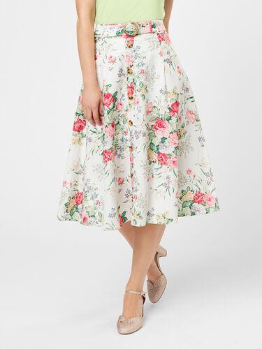 Yvette Floral Skirt