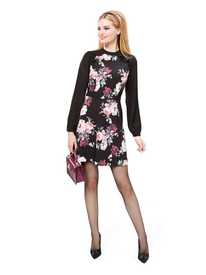Ebony Bloom Dress