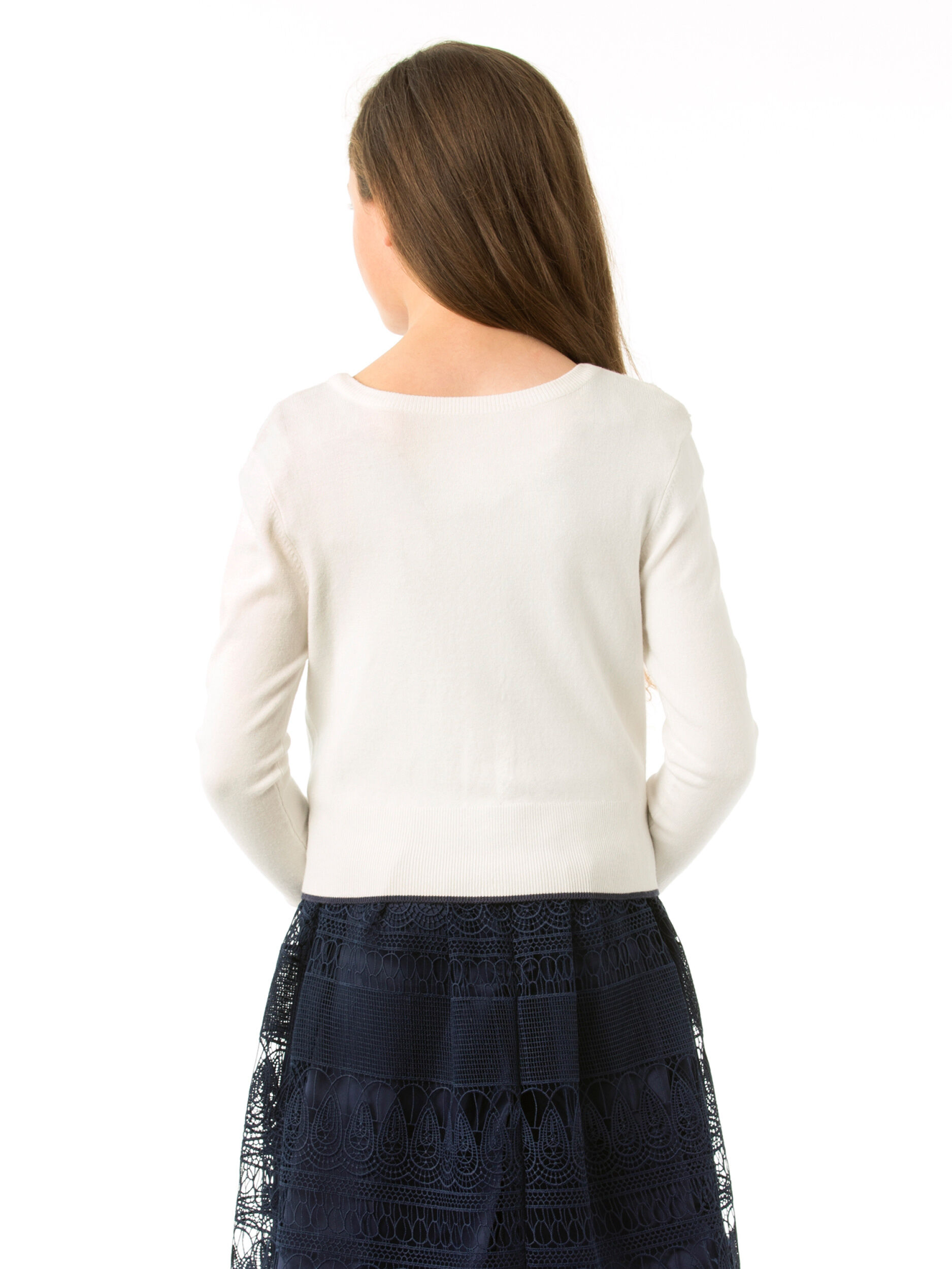 8-14 Girls Fully Fashioned Cardigan