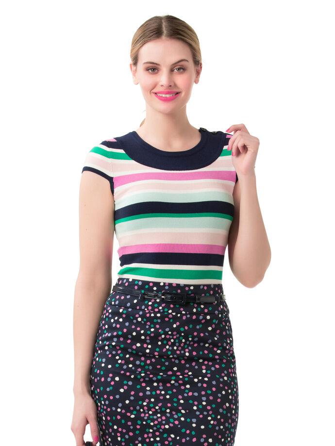 Bayside Stripe Knit Top