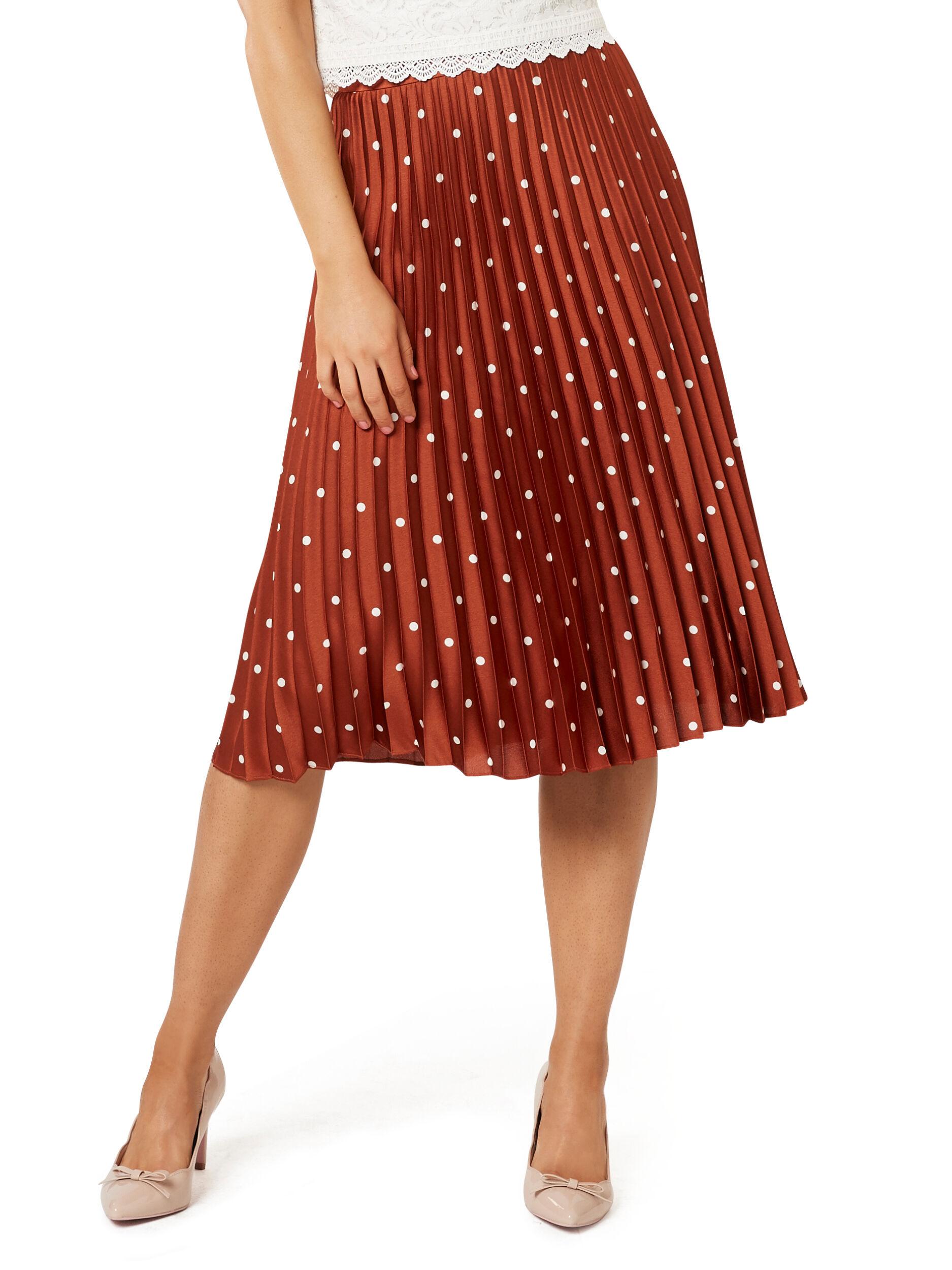 Vivian Spot Skirt