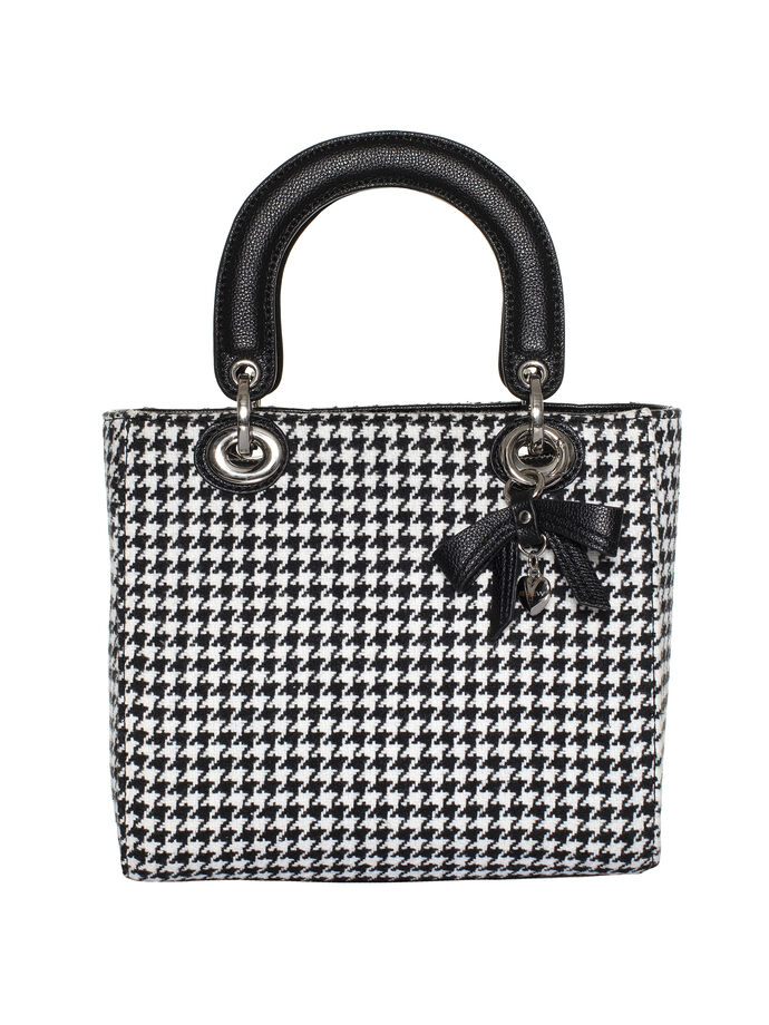 Houndstooth Small Bag