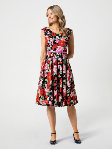 Admiral Floral Prom Dress