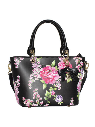 Dynasty Floral Small Tote