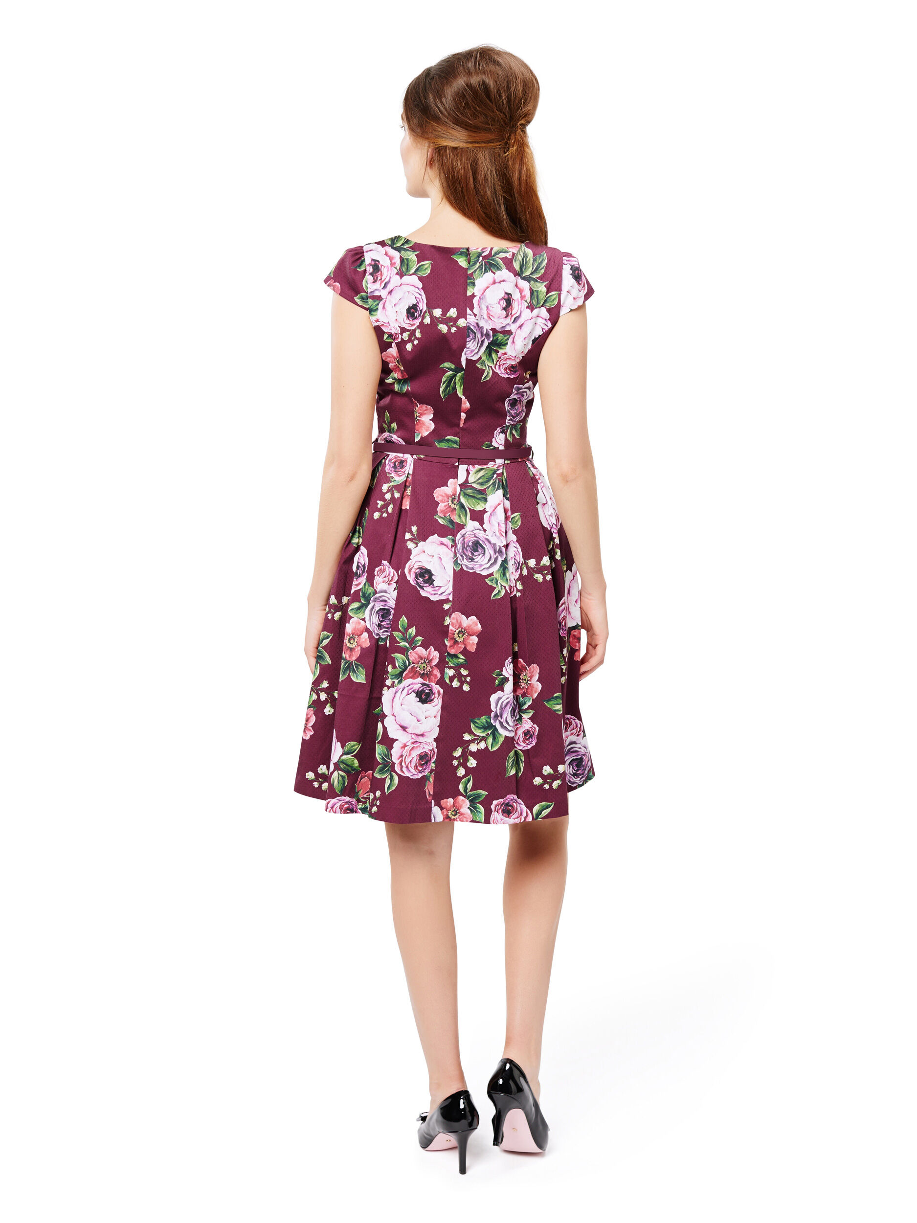 Chateau Floral Dress