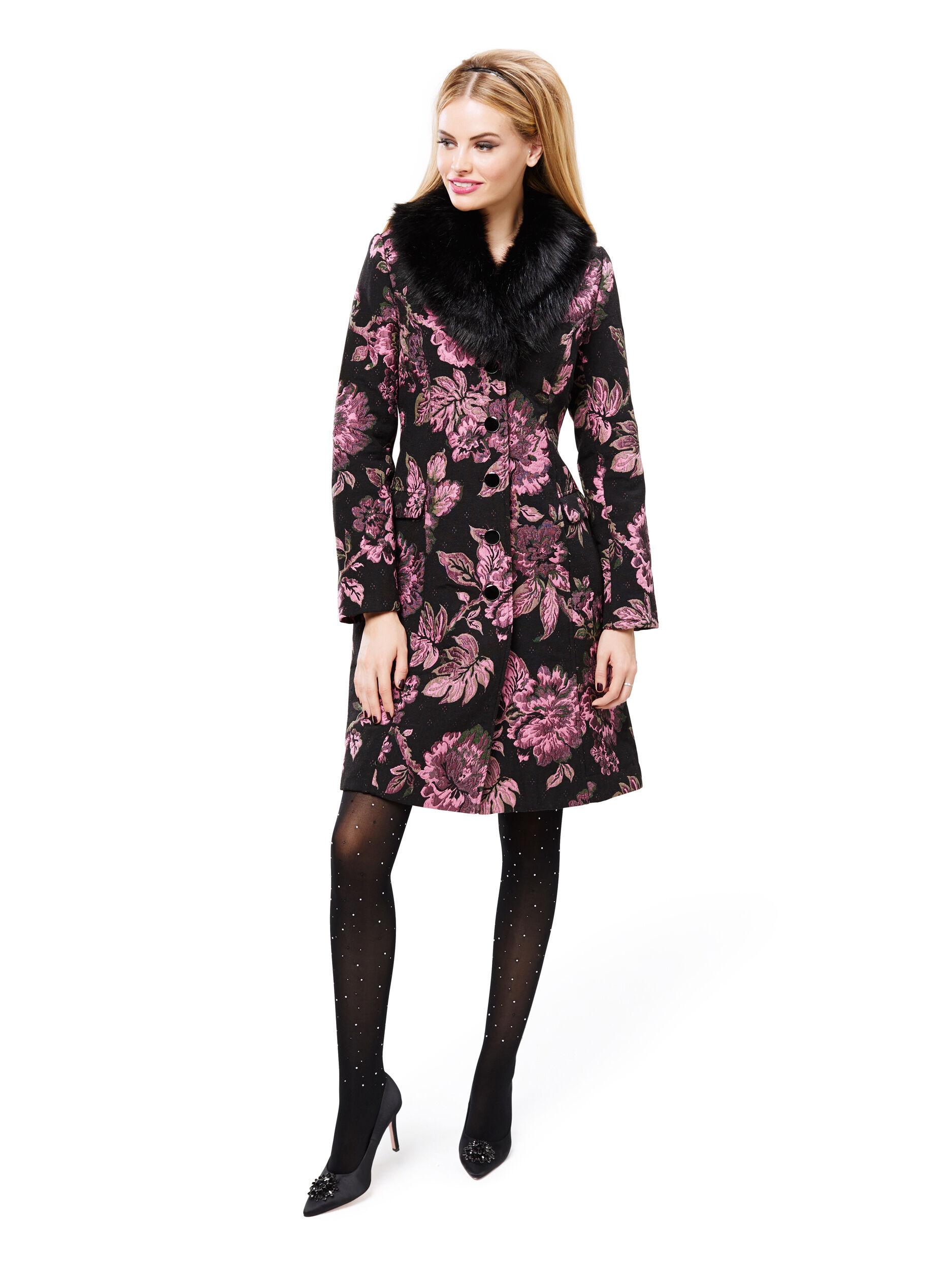 Minka Floral Coat