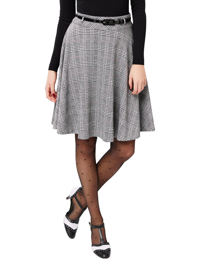 Daphne Check Skirt
