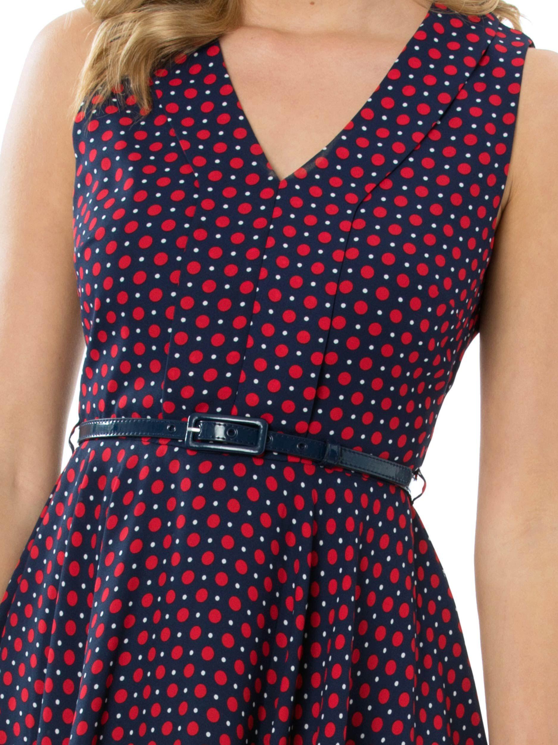 Sailor Spot Dress