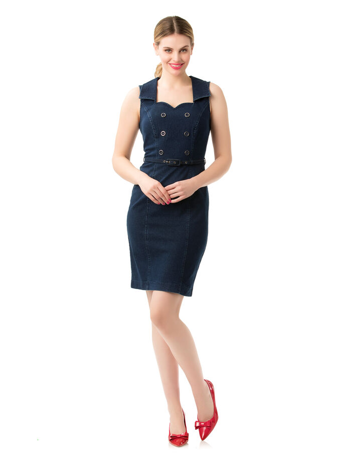 Rebel Denim Dress