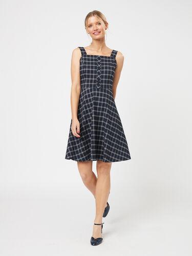 Astra Check Pinny Dress