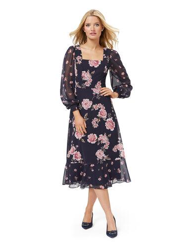 Boston Floral Dress