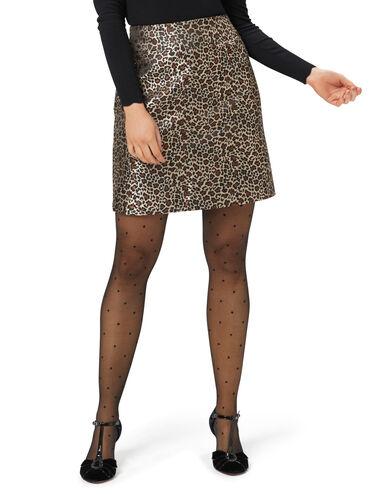 Purr-ty Leopard Skirt
