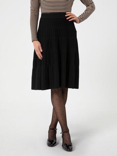 Jolly Holly Knit Skirt