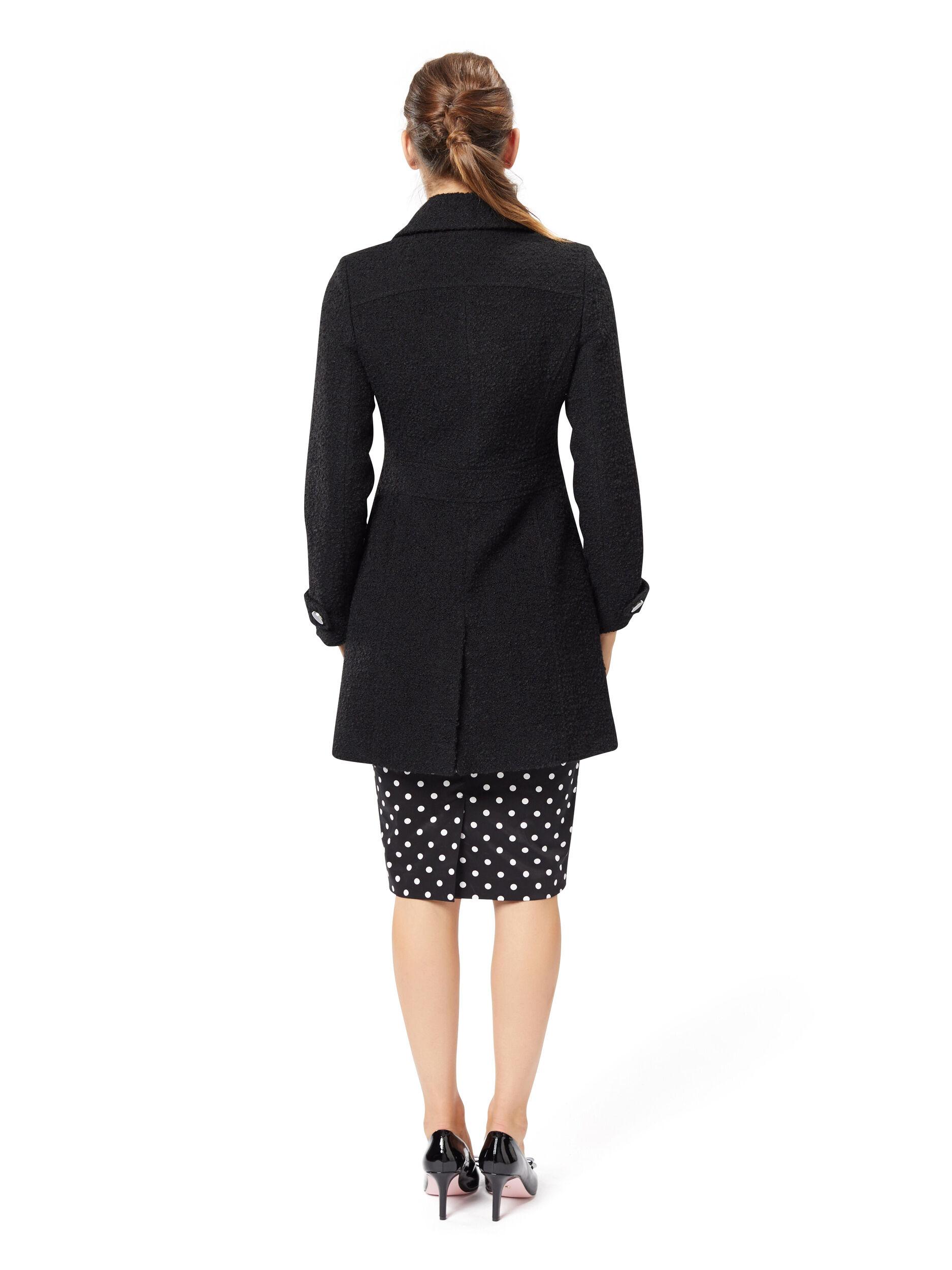 Encanta Rosette Coat