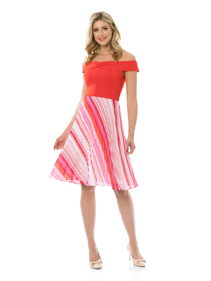 Tango Stripe Dress