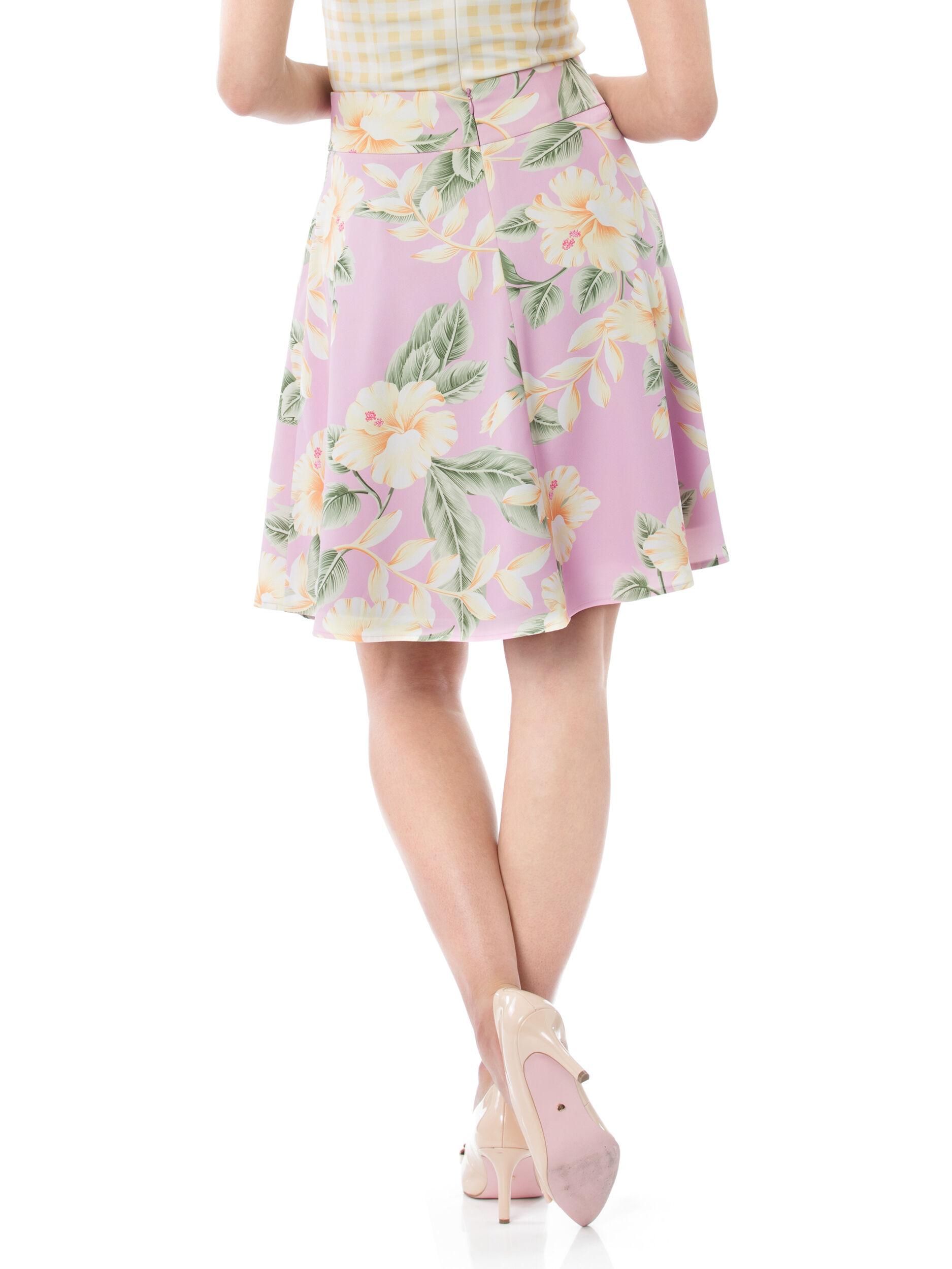 Hawaiian Sunrise Skirt
