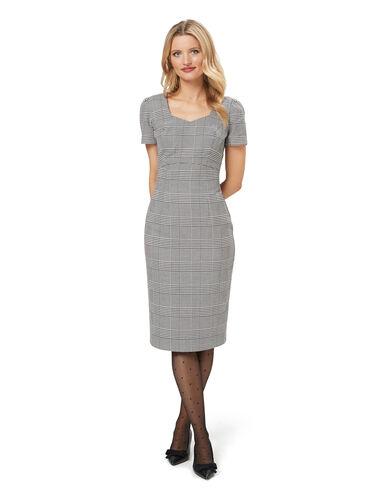Annika Check Dress