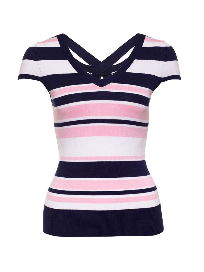 Sea Breeze Stripe Knit Top
