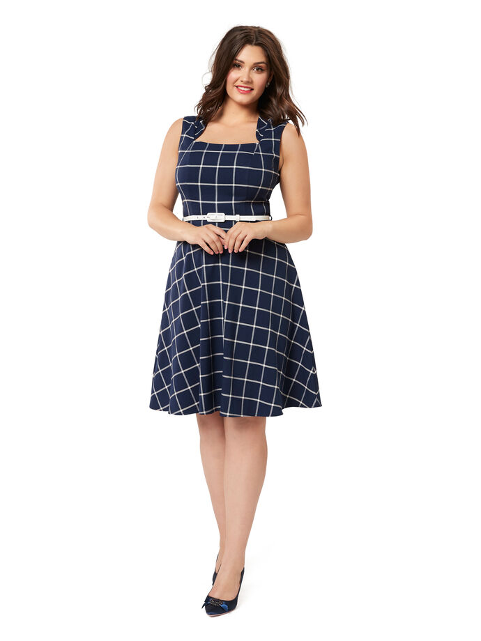 Veronica Check Dress