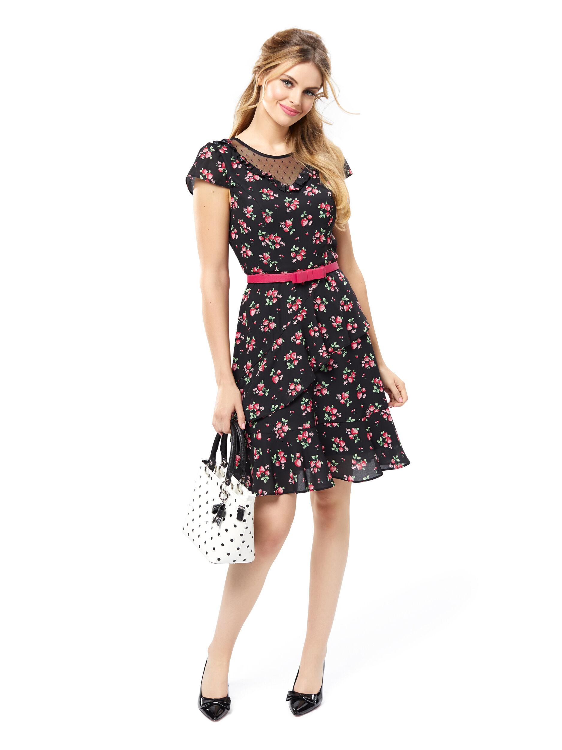 Strawberry Patch Dress