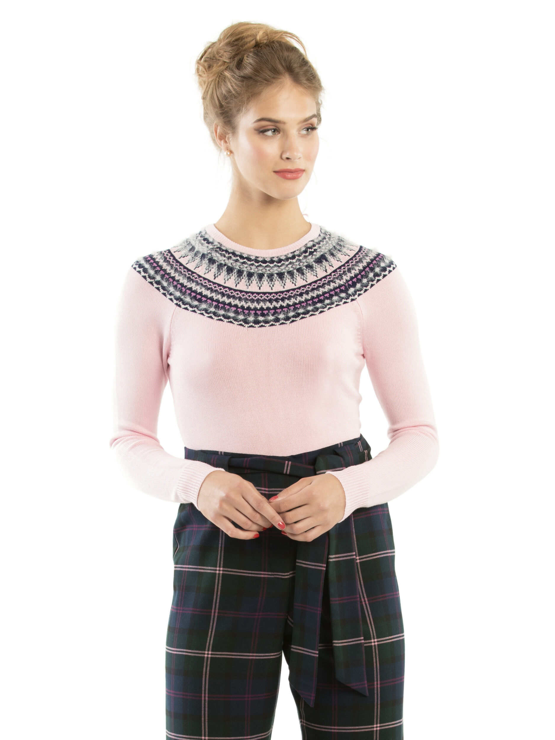 Fancy Fairisle Jumper