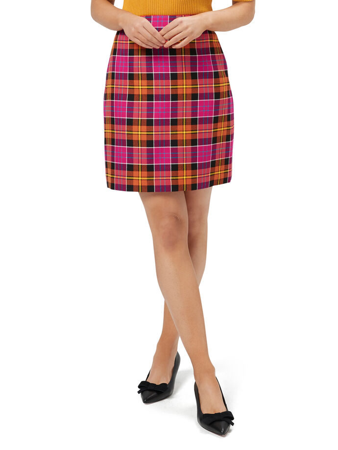 Callie Check Skirt