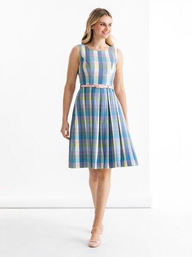 Stepford Check Dress