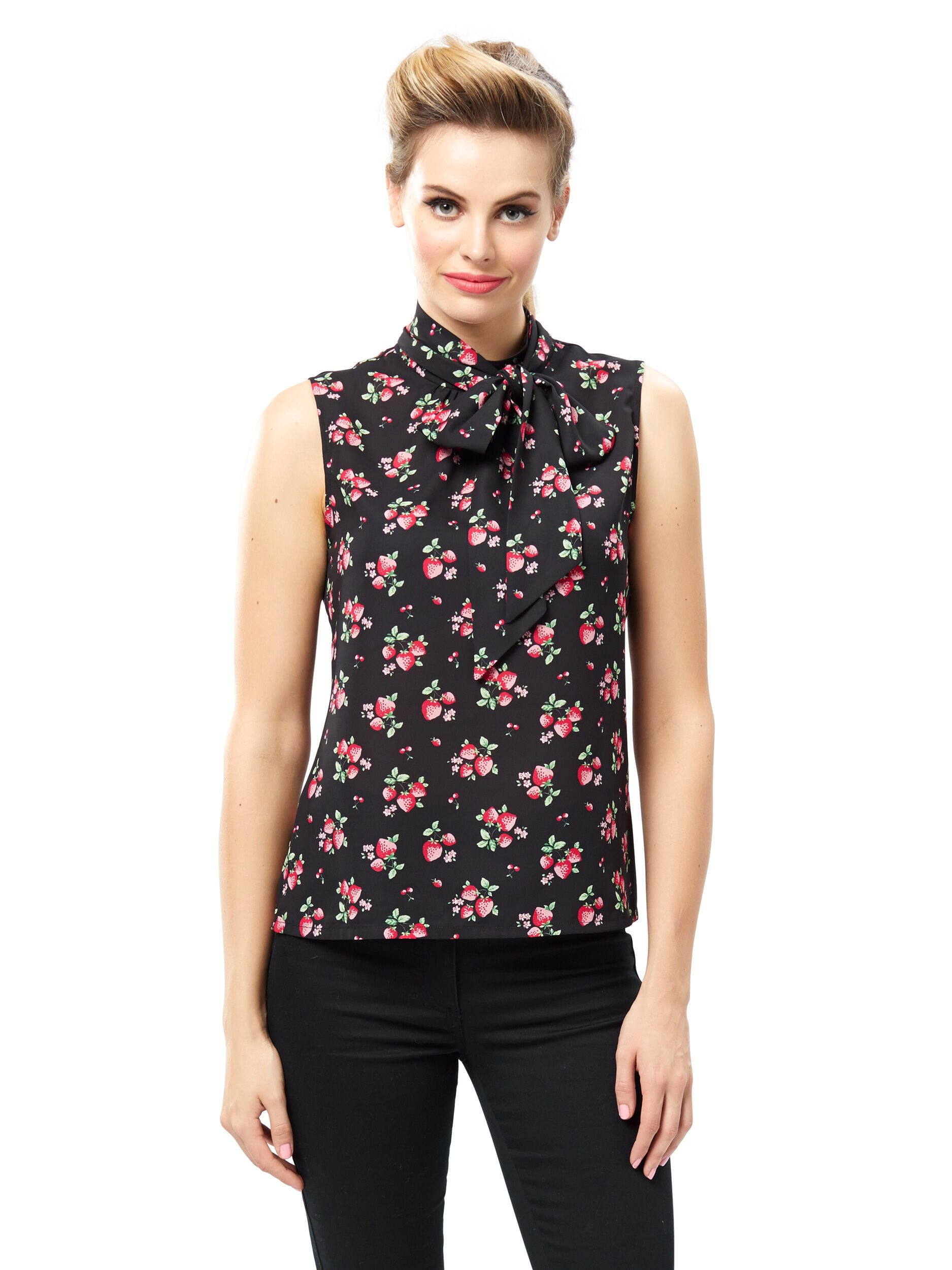 Strawberry Patch Top