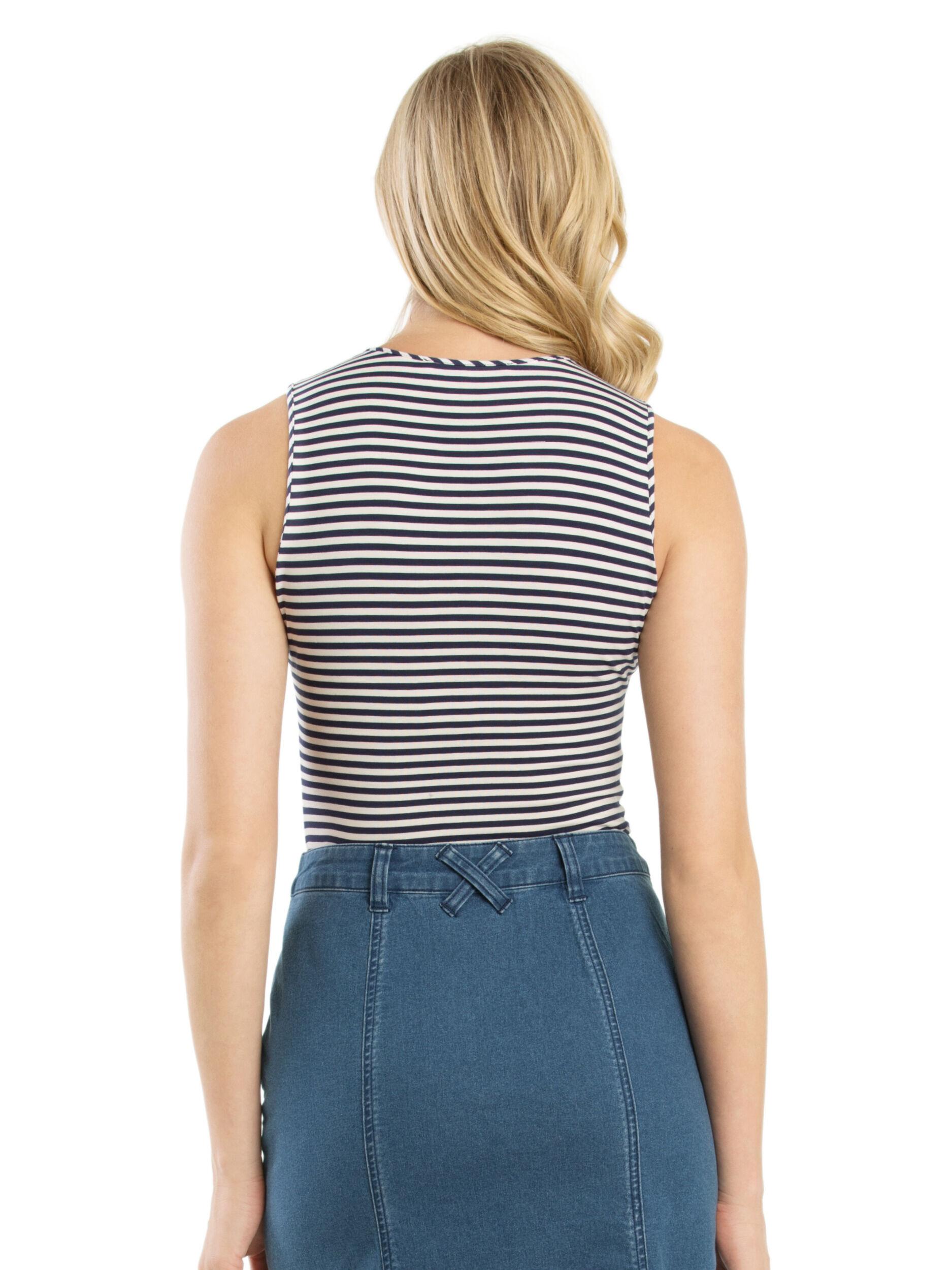 Mariner Stripe Top
