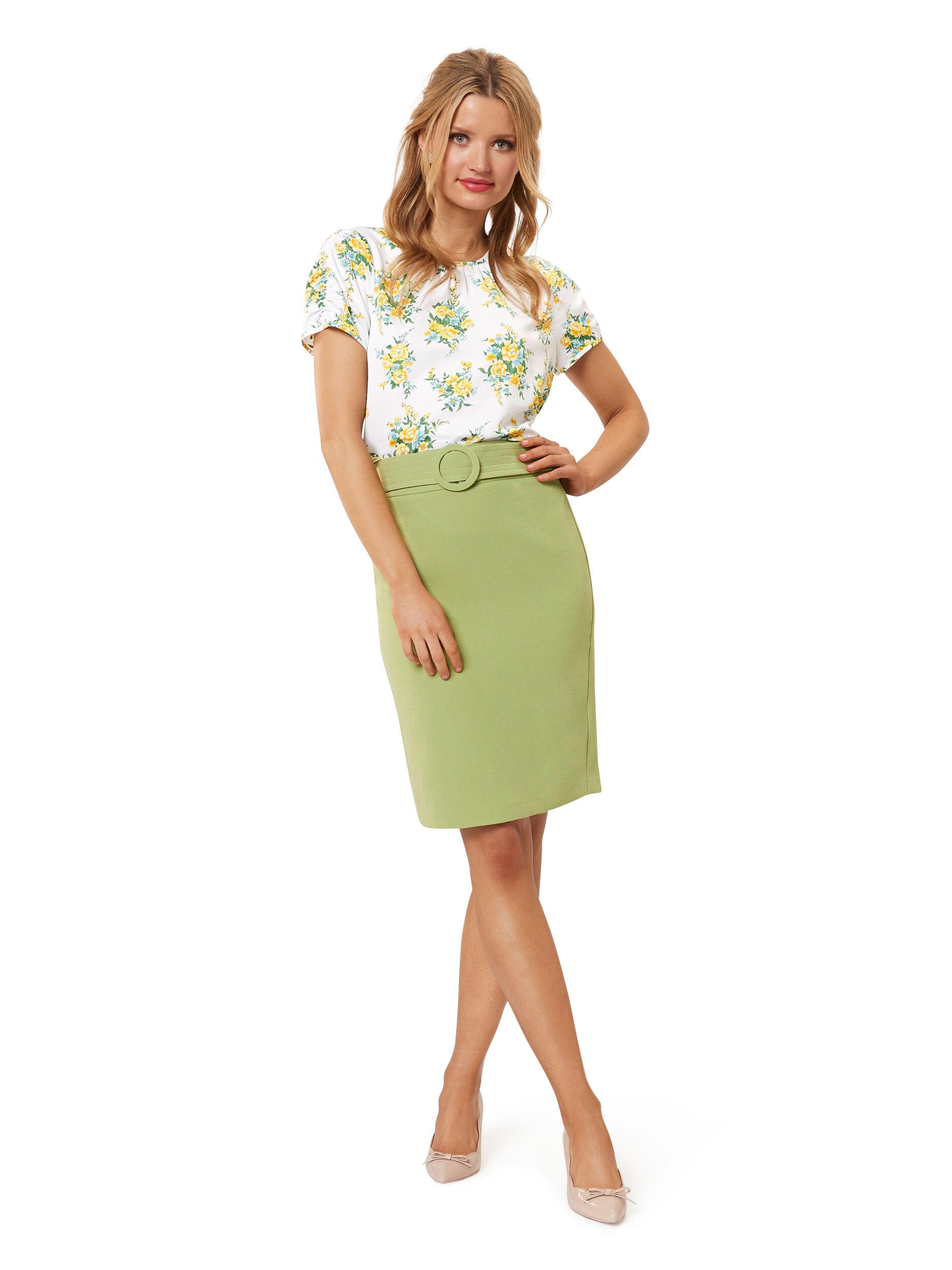 Farrah Floral Top