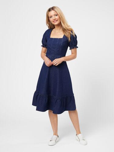 Geena Chambray Dress