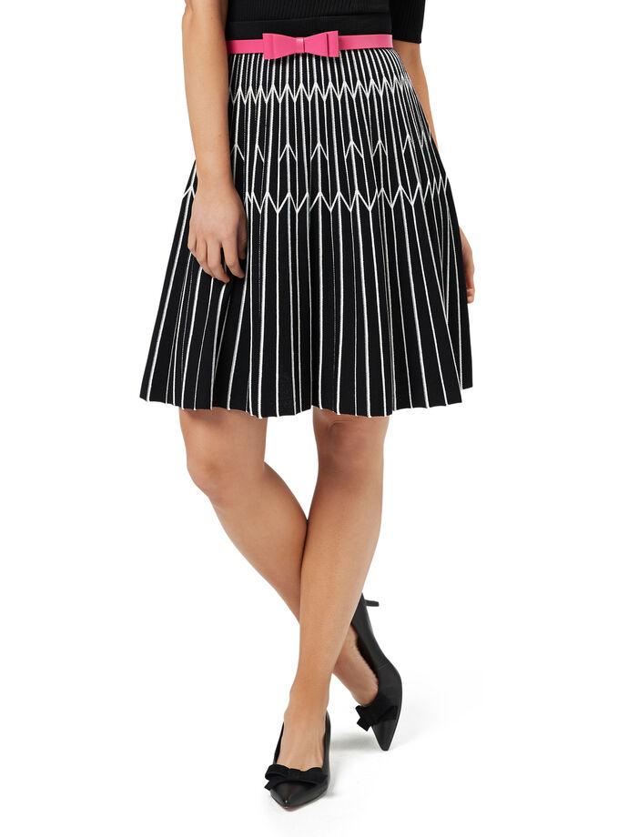 Kaleidoscope Knitted Skirt