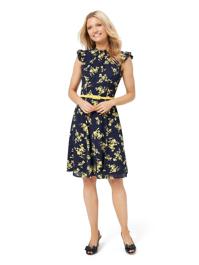 Aster Floral Dress