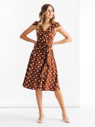 Toffee Spot Dress