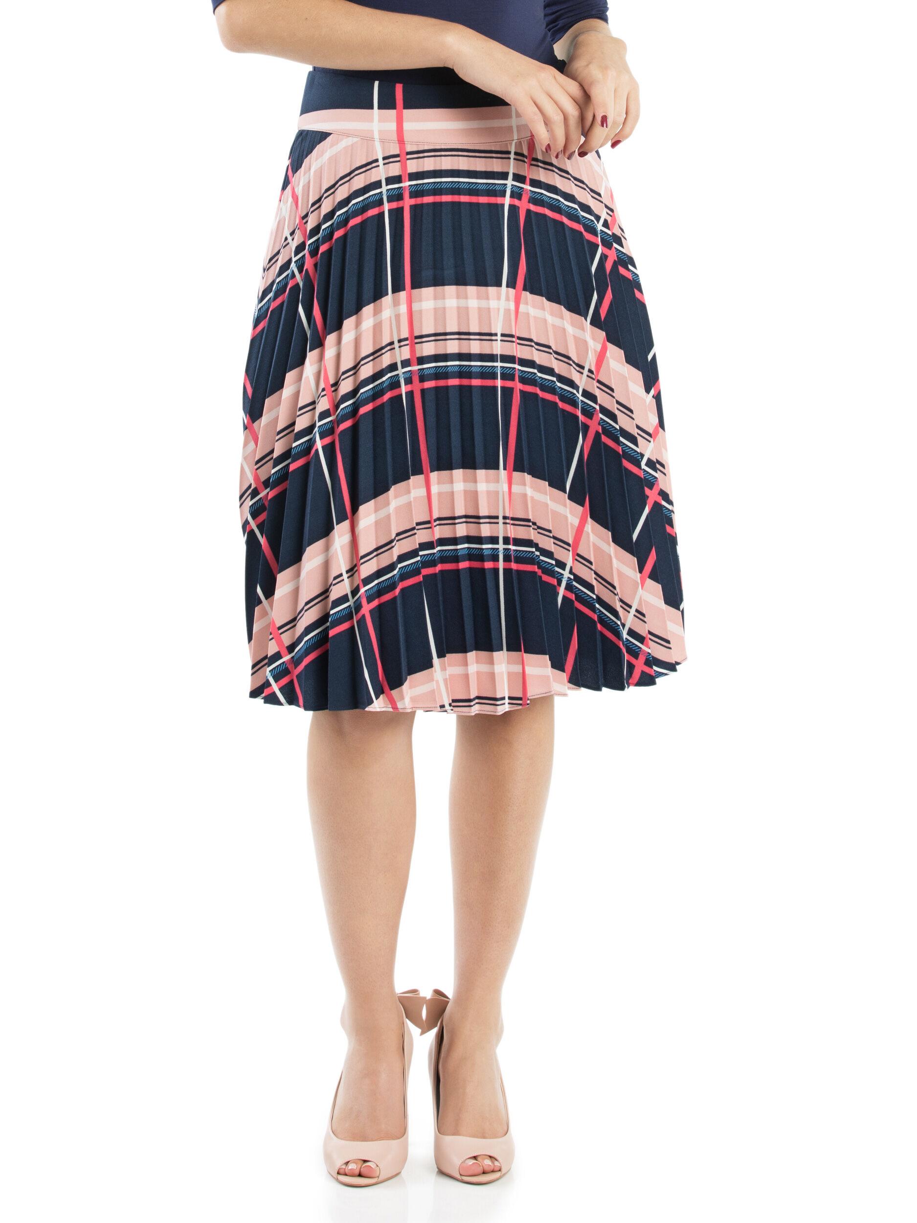 Camilla Check Skirt