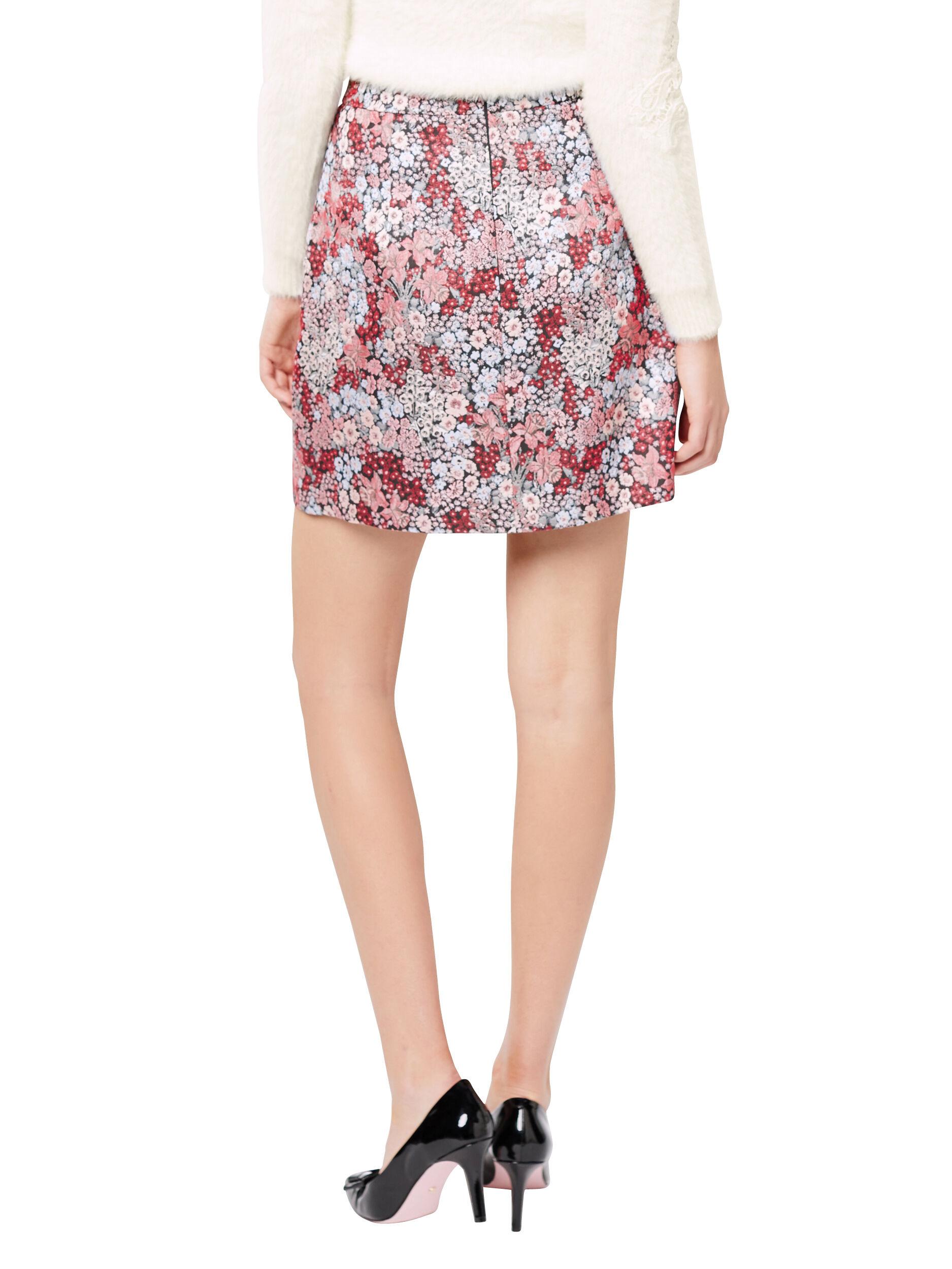Gardenia Floral Skirt