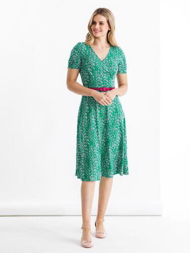 Dreaming Daisies Ponte Dress