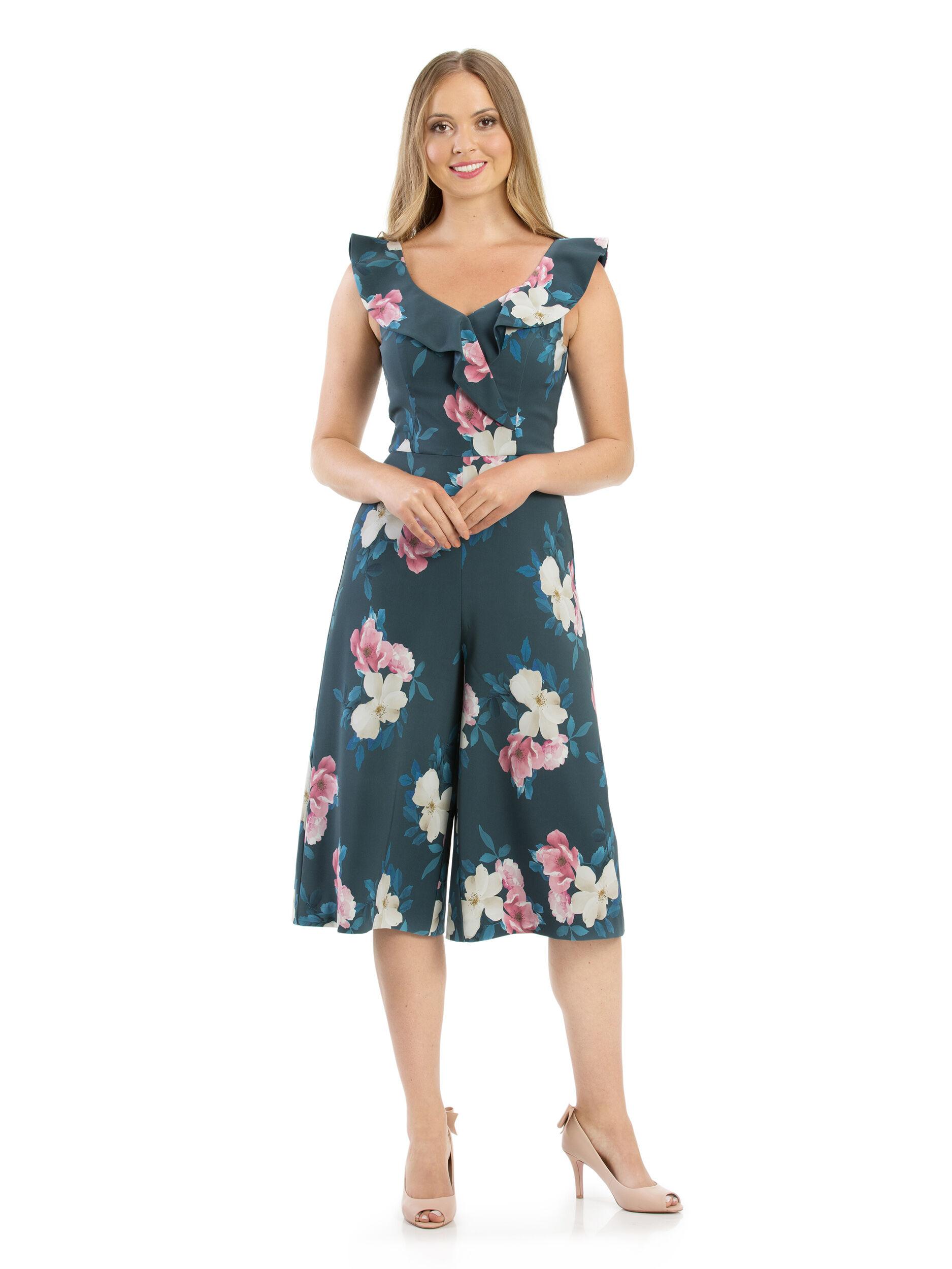 Whisper Floral Jumpsuit